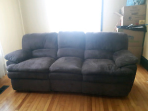 Brown Electric Couch