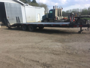 Trailtech 30ft Tandem Axle Dually Trailer