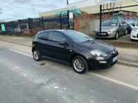 2012 Fiat Punto 1.4 GBT 3dr BLACK HATCHBACK Petrol Manual