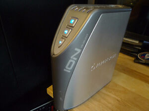 Iogear Ion 160GB Combo External Hard Drive with Tri-Select .