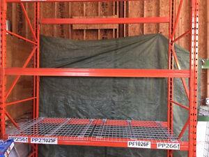 Storage racking shelving