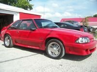 ford mustang gt cobra 5.0 1988