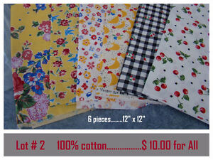 More Quilting and Sewing Material