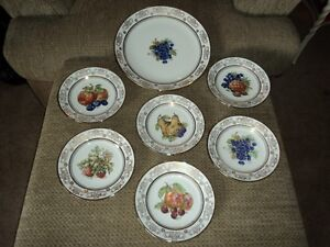 Vintage Kahla China Dessert Set