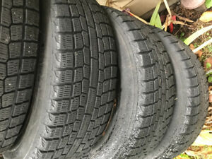 4 Yokohama ice guard Tires
