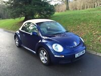 2007 VOLKSWAGEN BEETLE 1.6 PETROL CONVERTIBLE FOR SALE!! 63000 MILES!! FINANCE AVAILABLE