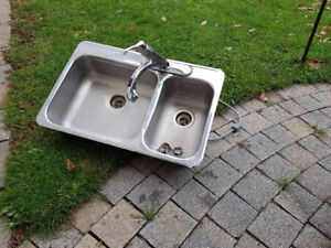 Stainless Kitchen Double Sink