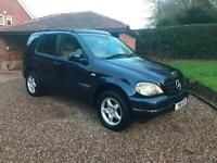 2001/Y Mercedes-Benz ML320 3.2 auto - Petrol - 7 Seat - Pan Roof - BLUE
