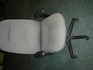 $125 · Lumbar support padded hydrolic executive office chair in