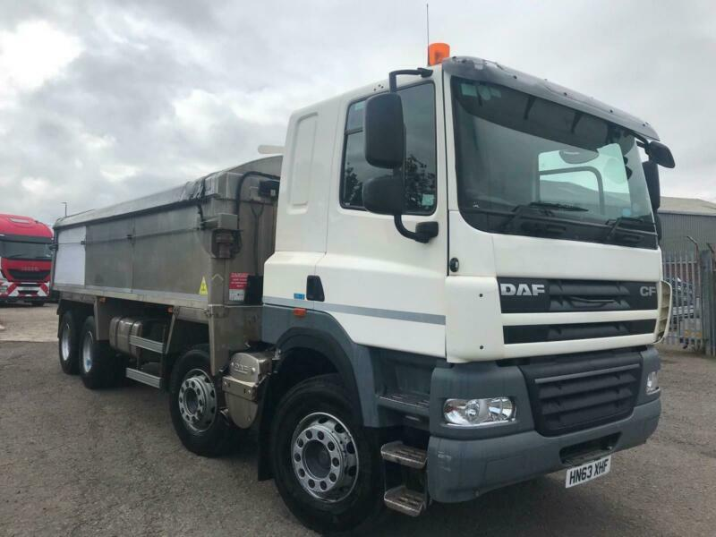 2013 63 DAF CF 85 380 8x4 ALLOY TIPPER MANUAL GEARBOX AIR CONDITIONING | in  Durham, County Durham | Gumtree