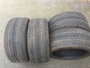set of GL 295/40/21 Continental cross contact UHP like new (sry)