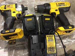 Brand new Dewalt drill set