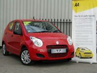 Suzuki Alto 1.0 SZ (red) 2013