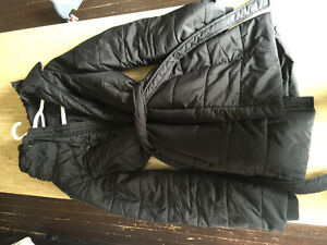 Thyme maternity winter coat size small