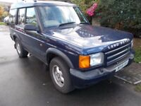 LAND ROVER DISCOVERY TD5 ES AUTO for spares or repair - engine problem