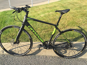 CANNONDALE QUICK FIBRE 1 DISC UPGRADED FULL CARBON