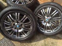 Bmw e 46 m3 alloys not Audi vw bbs dub