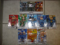 Retro 3-Pack,Lucario,Palutena,Ness,Mega Man and More Amiibos!
