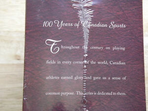 """FS: """"100 Years Of Canadian Sports"""" VHS 6-Tape Box Set (UNOPENED) London Ontario image 3"""