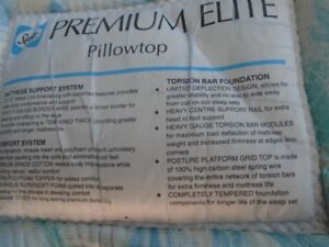 king size mattress  pillow top paid 900 now 65,00 obo best takes