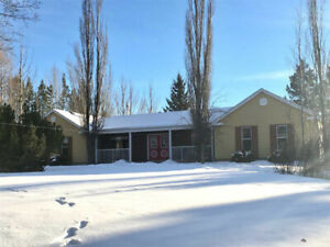Six Bedroom Strathcona County Home On Private Acreage Oasis