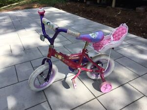Young Girls Bike