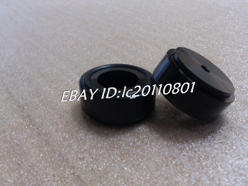 black Aluminum feet//foot pads for amplifer//dac D:39mm H:17mm model B ZM 4pcs