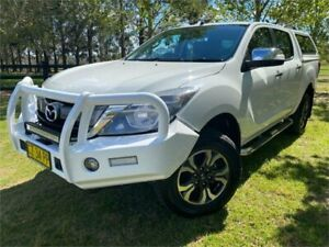 2016 Mazda BT-50 MY16 GT (4x4) White 6 Speed Automatic Dual Cab Utility Richmond Hawkesbury Area Preview