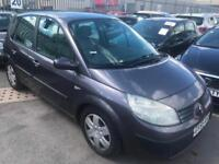 2006 Renault Scenic 1.5dCi 106bhp Dynamique. Mot. Tax. Free Insurance