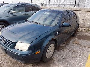 2002 Volkswagen Jetta TDI Sedan - Broken Clutch
