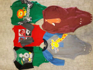 Many 18 Month Onesies(Diaper shirts)