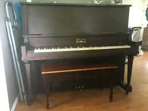Mozart symphony upright piano