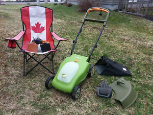 Battery-Powered Cordless Lawn Mower