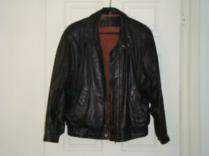Leather jacket for men.