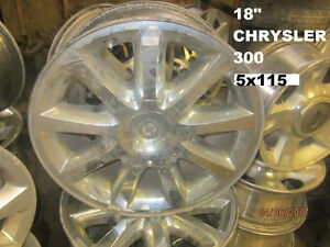 SETS OF FOUR (4) CHRYSLER/DODGE/JEEP WHEELS @ PICNSAVE WOODSTOCK