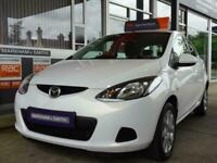 2010 Mazda Mazda2 TS2 1.3 petrol 5dr White + 2 Owners Hatchback Petrol Manual