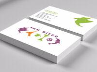 Carte d'affaires PRO, Logo, dépliant, Affiche, Infographie
