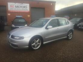 2004 Seat Leon Cupra R 1.8 20v Turbo 180bhp Silver 5dr Hatch, **ANY PX WELCOME**