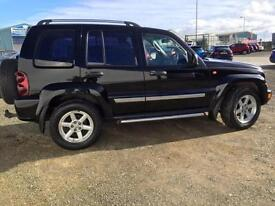 Jeep Cherokee 2.8 CRD auto Limited only 78,000 miles, RAC Warranty