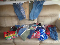 27 items of boy clothing size 2T all for  $35