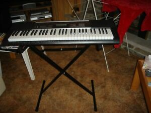 CASIO KEYBOARD WITH FOLDING X STAND