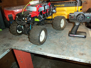 Nitro Powered Remote Control 4wd Truck & Boat