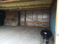 480sq foot storage unit to rent £60 per week.