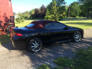 1997 eclipse Spyder GST turbo, solid, new top, no winters