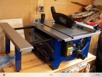 Sheppach small bench saw