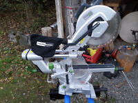 12 inch HAUSMAN MITER SAW AND STAND