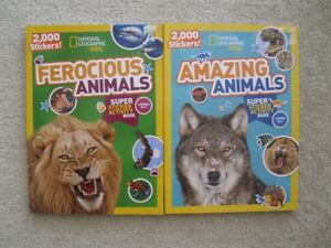 National Geographic Kids Sticker Books