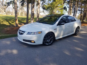 2007 PEARL WHITE ACURA TL TYPE-S 231 K