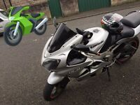 Zx6r 636 swap only ( 2003 ) full years mot new tyres pads swap
