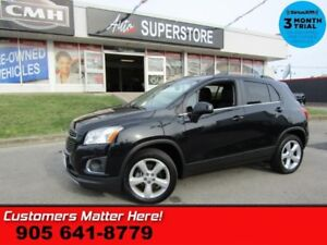 2015 Chevrolet Trax LTZ  AWD LEATH ROOF CAM HS PREM-AUDIO PWR-SE